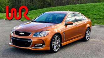 2017 chevrolet ss 6 speed manual test drive