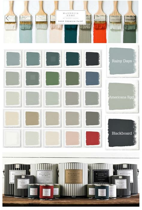 6 models of joanna gaines paint color choices rubber to