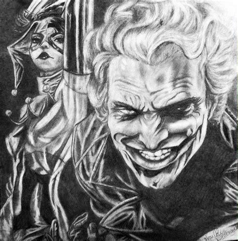 Drawings Of Joker And Harley Quinn