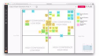 applications  visual brainstorming  collaboration