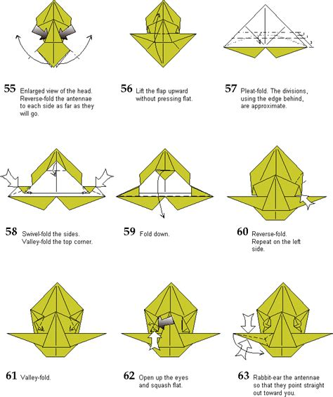 How To Make Origami Insects - origami spined ant