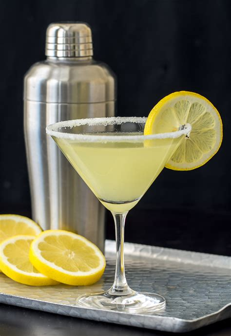 Lemon Drop Martini Recipe Dishmaps