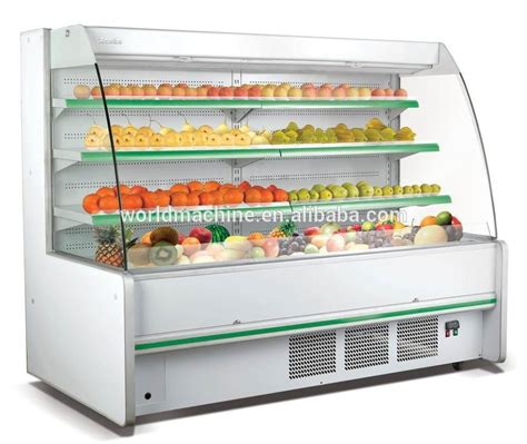 Kulkas Etalase harga yang baik buah dan sayuran etalase display buah