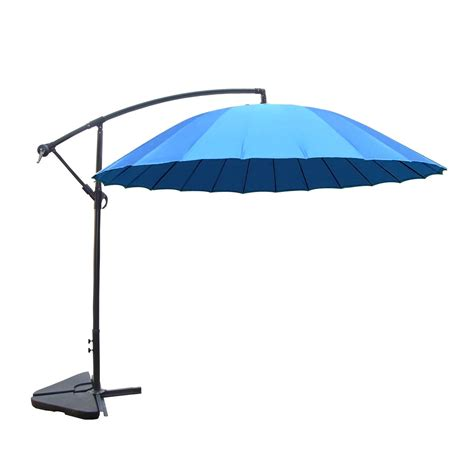 Parasol Deporte Inclinable by Parasol D 233 Port 233 Et Inclinable Rond 3m Bleu Shanghai