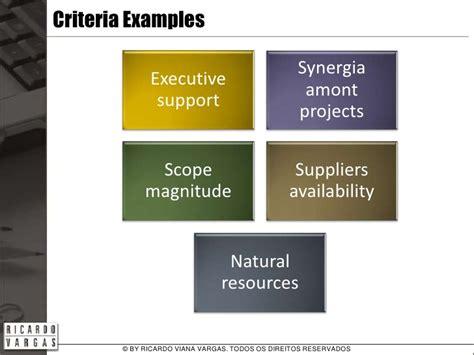 project prioritization criteria template exles of project prioritization criteria