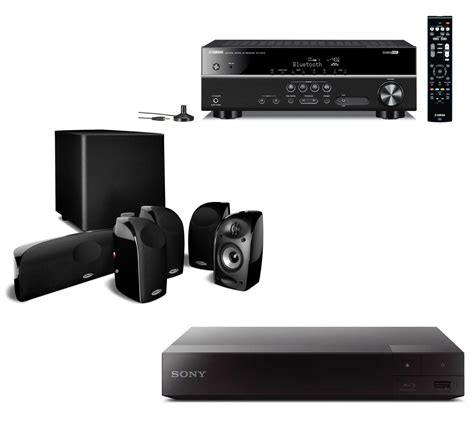 polk audio tl home theater system blu ray receiver