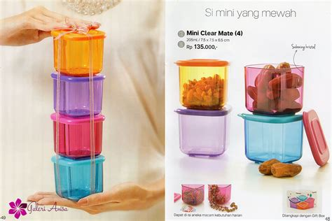 mini clear mate tupperware katalog promo terbaru tupperware