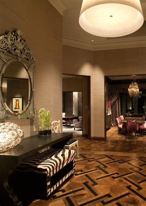 design interior glamour hollywood glamour meets modern modern dining room