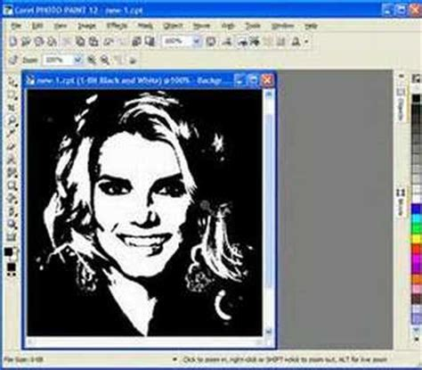 coreldraw pattern maker creating scroll saw patterns with corel draw portraits