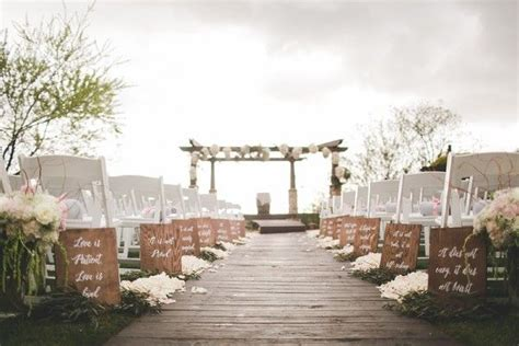 Wedding Aisle Marker Ideas by 1000 Images About Wedding Ceremony Aisle Markers On
