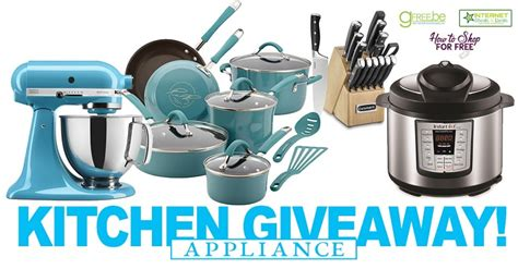 Appliance Giveaway - join the kitchen appliance giveaway now