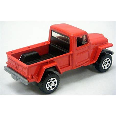 matchbox jeep willys matchbox 1953 jeep willys pickup truck global diecast