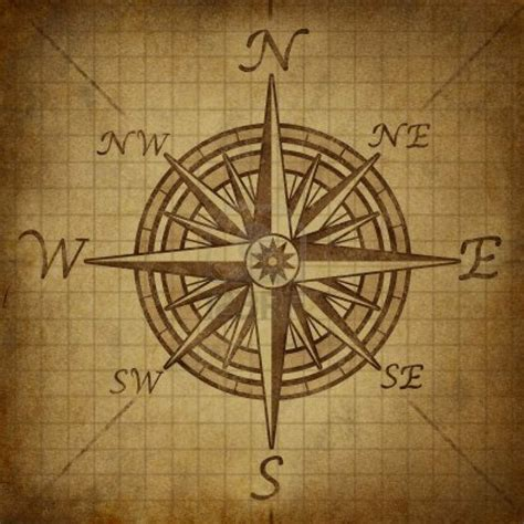 compass tattoo vintage compass rose with old vintage grunge texture representing