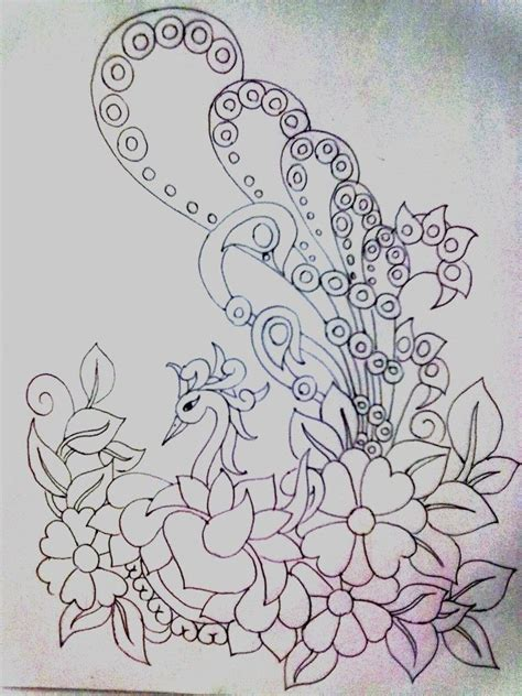 embroidery pattern on pinterest hand embroidery designs for bed sheets google search