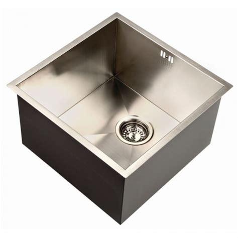 deep kitchen sinks zen uno 400 deep kitchen sink notjusttaps co uk