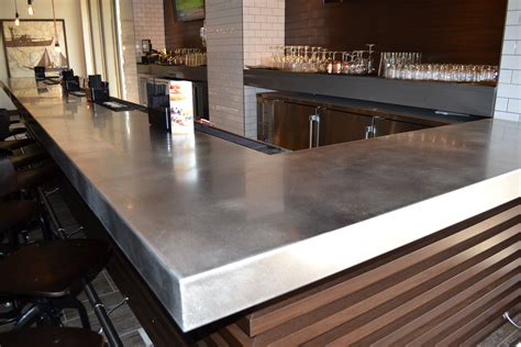 Steel Bar Top Stainless Steel Countertops Custom Metal Home