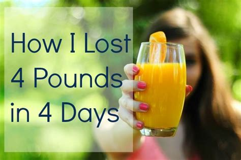 Home Detox Lose Weight Fast by Diy Juice Cleanse How I Lost 4 Pounds In 4 Days