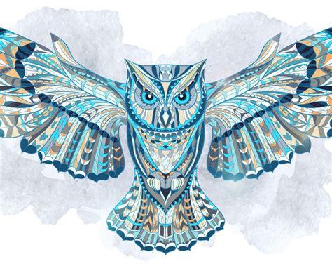 owl wallpaper for macbook 1280x1024 ethnic owl desktop pc and mac wallpaper
