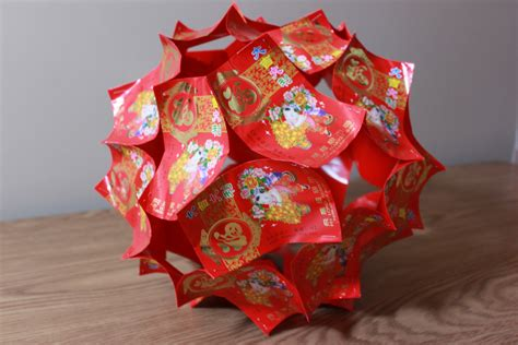 how to make new year lanterns using packets decorating diy new year decoration ornament paper