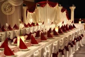dekoration rot hochzeitsdeko bordeaux rot