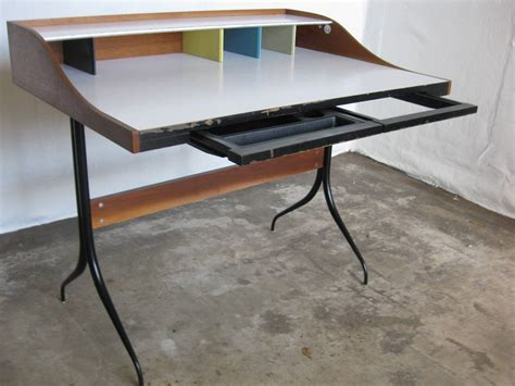 george nelson swaged leg desk for sale at 1stdibs