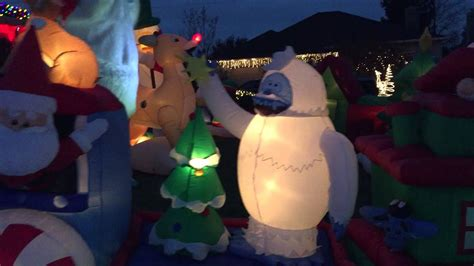 christmas inflatables  youtube