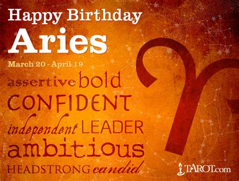 aries birthday astrology