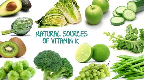 vegetables low in vitamin k vitamin k bujint