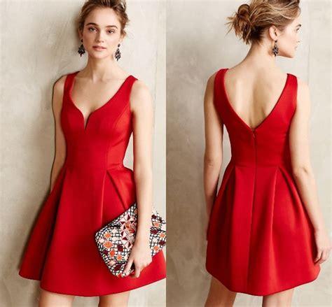 vestido noche corto 30 vestidos cortos para en color rojo vestidos glam