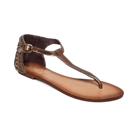 Monkey Luxury Heels by Monkey Sunflower Sandals In Brown Bronze