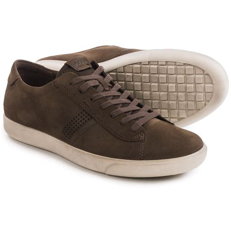 leather sneakers mens ecco gary casual sneakers for save 46