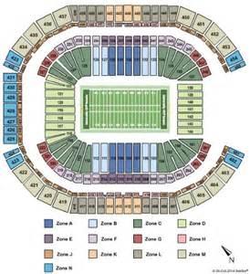 arizona stadium seating map of stadium tickets of