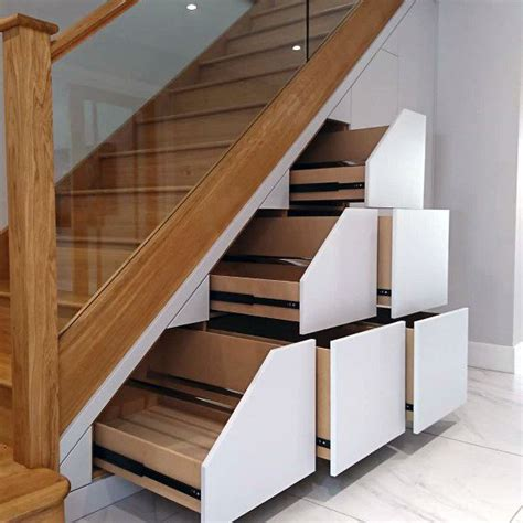 Understair Cupboards - top 70 best stairs ideas storage designs