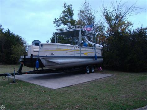 used pontoon boat for sale dallas used power boats pontoon boats for sale in texas united