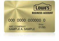 lowes business card lowes