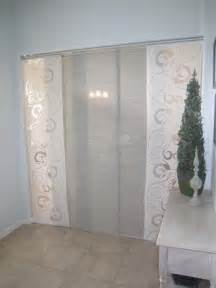 Sliding Panel Curtains Home Office Makeover With Ikea Panels Diy Design Inspirations Sliding Doors