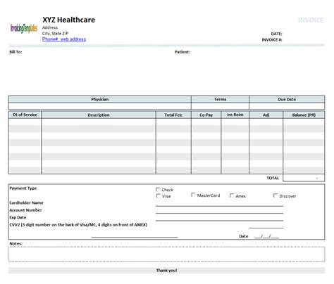 rental invoice template excel house rental invoice template in excel format free