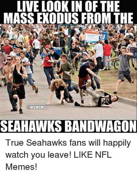Nfl Bandwagon Memes - 25 best memes about seahawks bandwagon seahawks
