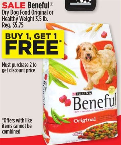 dog food coupons bj s beneful dog food coupon save 5 00living rich with coupons 174