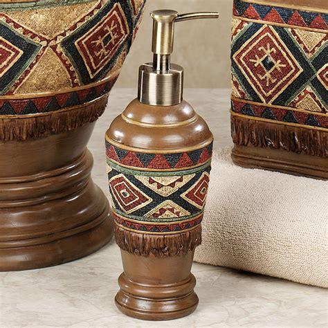 southwest bathroom accessories tribal spirit southwest bath accessories