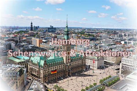 hamburg karte hamburg sehensw 252 rdigkeiten karte stadtplan mit highlights