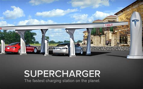 Tesla Power Station Tesla Motors Upcoming Charging Stations In New York Will