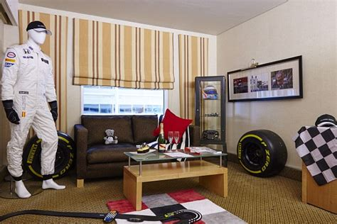 hilton create dream f1 hotel room inspired by jenson hilton create dream f1 hotel room inspired by jenson