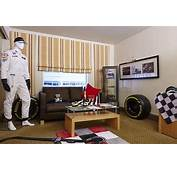 Hilton Create Dream F1 Hotel Room Inspired By Jenson