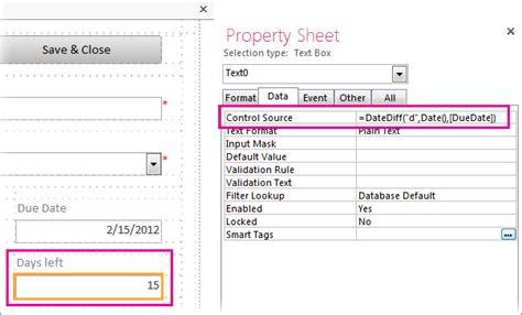 php datediff format menghitung jumlah hari di antara dua tanggal access