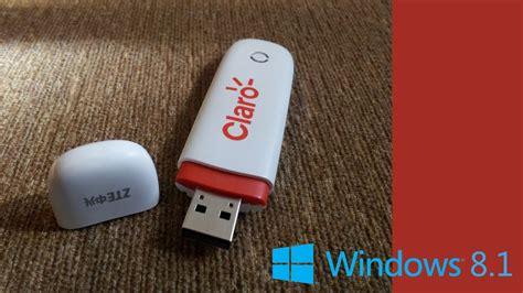 Modem Claro windows 8 1 e modem 3g max zte claro