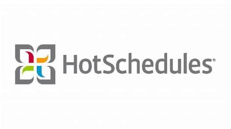 hot schedule hotschedules