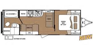 Master Bath With Shower Only shop rvs by floor plan options veurinks rv bunk house