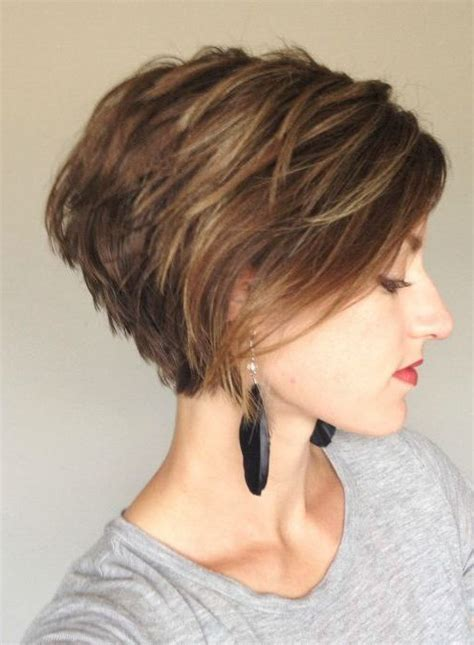 short stacked haircuts for fine hair that show front and back best 25 stacked bob haircuts ideas on pinterest