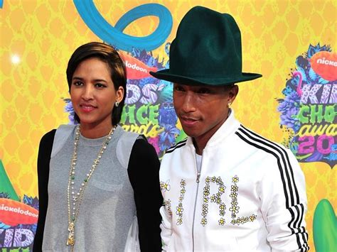 surname lasichanh fashionable musician pharrell williams r and wife